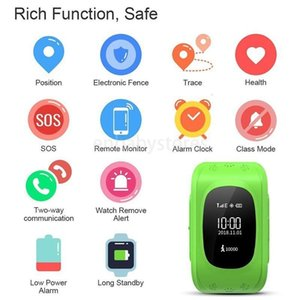 Lbs Q50 Sos Lcd Safe Call Location Finder Tracker Smart Watch For Children Gift Locator Tracker Kid Smartwatch Ios Android Anti Lost Monitor