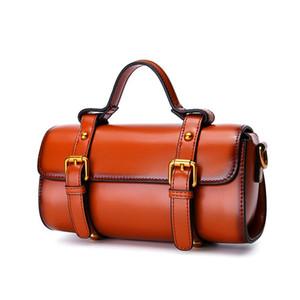 HBP sıcak kadınlar antik yollar geri inek derisi tek omuz çantası bir trendy taşınabilir messenger çanta gerçek deri crossbody çanta 8P3050