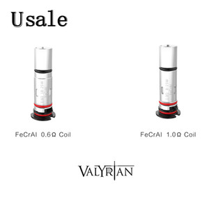 4pcs Pack Uwell Valyrian Pod Coils FeCrAi 0.6ohm DTL 1.0ohm MTL Replacement Coil For Valyrian Pod System Kit 100% Original