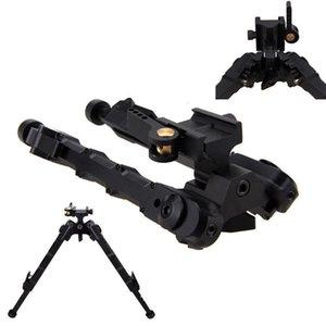 V9 Bamboo Outdoor Tactical Tripod Treppiede Acqua Pistola in metallo BiPod Retrattile SR-5