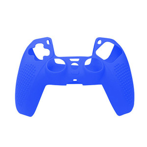 5Pcs Pack For Ps5 Controller PS5 Playstation 5 Soft Silicone Case Cover Solid Color Controller Grip Cover Antislip With Spot