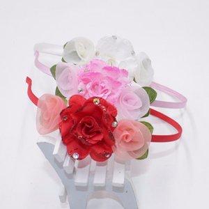 Fashion Chinese Style Elegant Flowers Hairband High Quality Hair Band Child Headband Kid Gift Hair Accessories