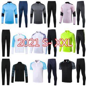 19 20 21 человек тренировочный костюм Выжитие футбольный трексуит свитер 2020 Kun Aguero Mahrez футбол для футбола бега трусцой Chandal Futbol City