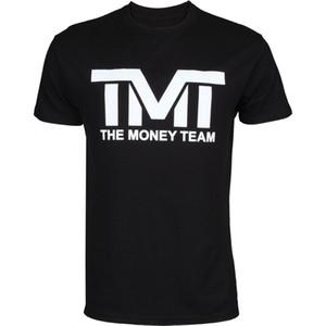 Das Geld Team TMT Floyd Mayweather Klassische T-Shirt Herren Rundhals-Kurzarm-Baumwoll-T-Shirt