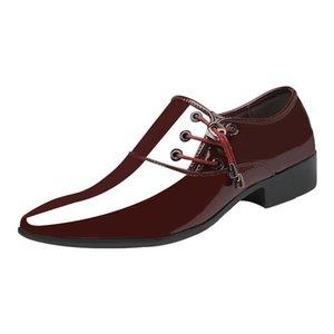 Homme Entreprise Business Formel Classic Ascenseur Homme Ascenseur Brown Chaussures Pour Homme Homme Loisirs Temps de la mode italienne Zapatos de Hombre