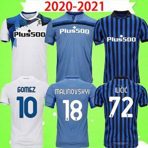 2020 2021 Atalanta Soccer Jerseys BC 20 21 L.Muriel Gosens de Room Iilic Comunica Pasalic Hatiboer Camicie da calcio Mens Barrow Uniformi Arana