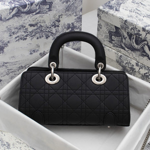 Top Lambskin Luxurys Designers Lady Mini Bags Women Crossbody Bag Newest Dress Shopping Handbags Purse Black Shoulder Bags with Box