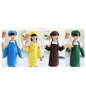 Прочные фартуки Регулируемая защитная новая одежда легко чистить детей детские принадлежности Pinafores кухонные аксессуары 4 85ым к2