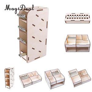 MagiDeal TV Movie Action Figure Model Repair Tools Storage Shelf Rack for Kids am Figure Supplier DIY Toys 6Kinds