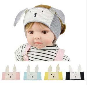 Easter Unicorn Kids Cartoon Knitted Headband Newborn Toddler Cute Rabbit Ear Bear Headwrap Infant Winter Earmuffs Hairlace Headwear E121804
