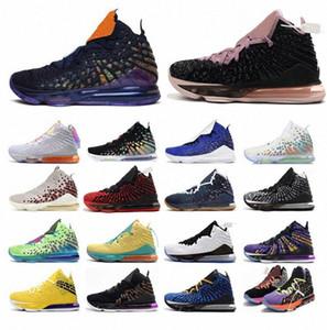 Tênis de basquete lebron James.Lebrons 17 mens correndo sneakers infravermelho monstars gangue azul futuro tapete vermelho treinadores esportivos verde 7-12 e9rk #