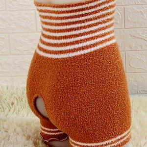 y espesado Woolly Weind Shorts Open-End Shorts 'Pajama Scrats Side Fleece PROTECCIÓN DE CINO ALTAS PERFERIAS