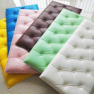 30*60cm XPE Foam Wall Stickers DIY PU Waterproof Wall Panels for Kids Room Self Adhesive Kindergarten Wall Stickers Home Decor BWB1430