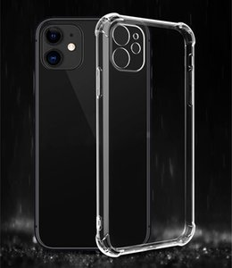 Transparent Clear Airbag Phone Case Soft TPU Shockproof Portector for iPhone 12 pro max 11 X Xs XR Xs Max 7 7p 8 8plus 6s 6plus