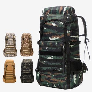 70L Large Capacity Man Army Tactical Backpacks Assault Bags 900D Outdoor Sport Hiking Camping Bag Rucksack