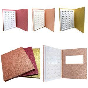 Норка ресниц книги пустой ручной работы ложная книга ресниц пересечения ресниц книги оценки для глаз