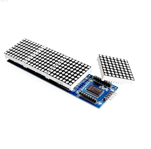 Wholesale-free Shipping Max7219 Dot Matrix Module For Arduino Microcontroller 4 In On sqckNd dh_seller2010