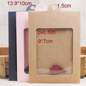 20sets Multi Color Jewelry Package Display Hanger Box With Card Necklace Earring Package Hanger Within Box With Card Inside bbyFCZ