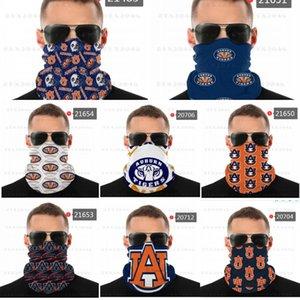 Bandana NCAA Auburn Tiger Gesicht nahtloser Nackengaiter-Schild Schal Masken UV-Schutz für Motorrad Radfahren Reiten Laufbänder RUXT