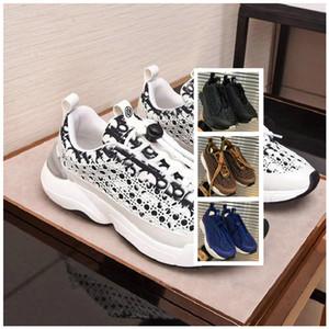 Brand 19SS Obliqui B24 Sneaker 3M riflettente con cannage Motif Mens Fashion Designer Scarpe casual da uomo Scarpe da ginnastica da donna