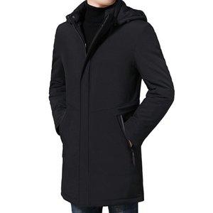 Boutique men down cotton-padded jacket in the winter the plus-size fat fat fertilizer pack cotton long winter jacket loose coat