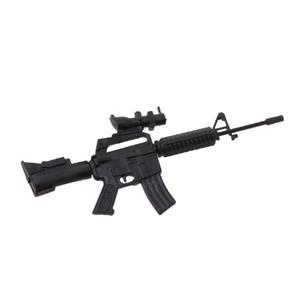 Mini Submachine Weapon Guns Capsule Toy DIY Assemble Sets Model Collection Gift Q1123
