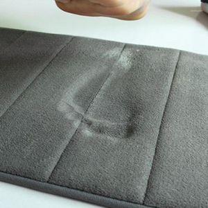 1pc Bagno Memory Foam Bath Mat Tappeto tappeto tappeto antiscivolo Absorbent Camera da letto tappetino da cucina Zerbino Tappeti senza skid Moquette morbido1