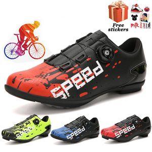 Cycling shoes men Spd sports bike sneakers Hombre professional mountain road bike shoes triathlon