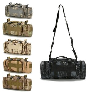 600D Waterproof Nylon Tactical Bag Outdoor Hunting Sports Waist Packs Molle Combat Sports Shoulder Bag Backpack