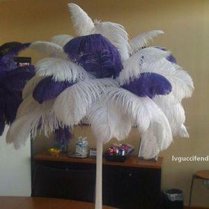 DIY Devekuşu Tüyler Düğün Parti Centerpiece Ostrich Tüy Düğün Ostrich Plume Düğün Parti Dekorasyon Merkezi için Centerpiece