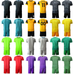 Goalkeeper GK Wolves Goalie Wanderers Soccer 21 John Ruddy Jersey Set 11 Rui Patricio Black Red Grey Green Men Football Shirt Kits Uniform