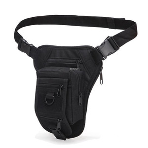 Tactical Leg Bag Outdoor Hunting Tool Thigh Pack Motorcycle Riding Waist Bag for Hiking Camping Cycling