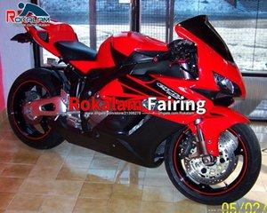 Per Honda Motorcycle Fairings CBR1000RR Kit carenatura RED CBR1000 RR 04 ABS Kit di carenatura (stampaggio a iniezione)