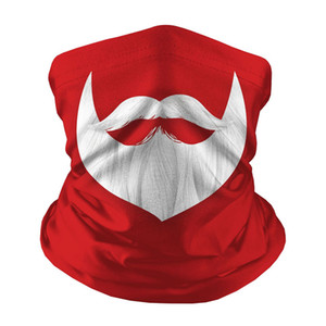 Chirstmas face shield crianças máscara quente máscara ao ar livre xmas mágica headscarf headband esportes pescoço gaiter presente de natal hha1399