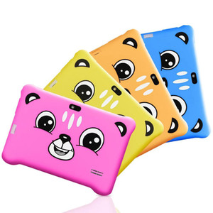 """7"""" Kids Tablet PC 8GB Touch control Wi-Fi Tablet PC Pad with Shock-Proof Silicone Protective Case for Children Educational Gift"""