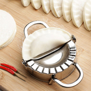 Easy Diy Formling Flow Flows Peampling Tapper Cutter Perficate Машина Приготовление тестовых инструментов Кухонные инструменты Пельмени Jiaozi Maker Устройство Y200618
