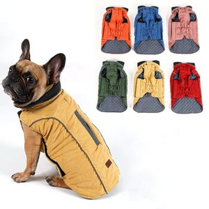 High Quality Clothes Wet Water repellent Winter Household Dog Jas Vest Retro Comfortable Hot Pet Outfit Clothing Large Dogs