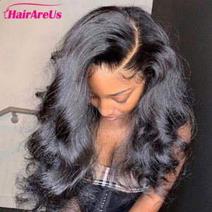 28 30 Inch Remy Peruvian Human Hair Lace Front Wigs Body Wave Lace Front Human Hair Wigs Pre Plucked for Women Natural Hairline