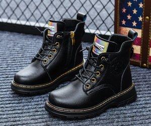 Sandq Baby Boys Boots Boots Зимняя теплая натуральная кожа обувь обувь для детей Чассуре Zapato Детская обувь для девочек Boot Sandq Y1117