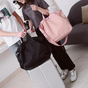 Sac de voyage à courte distance Sac à bagages de femme Sac à bagages pour hommes de grande capacité Voyage Voyage Fitness imperméable