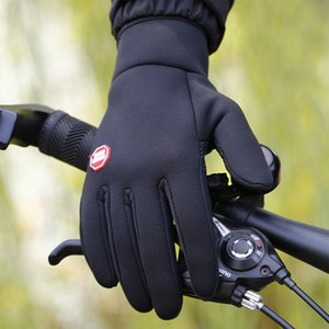 Luxury-Outdoor Sports For Men Women Winter Warm Skiing Waterproof Windproof Anti-slip Touch Screen Cold Weather Gloves