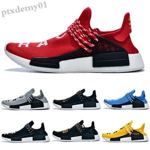 새로운 Pharrell Williams x Originals Hu Trial Solar Pack 3M Pow3R 인류 남성 여성 신발 정통 운동화 36-45 WW07