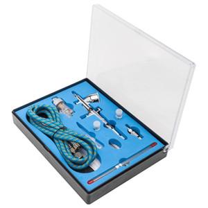 Modern Dual Action 3 Airbrush Kit for Air Compressor Craft Paint Art Spray Gun