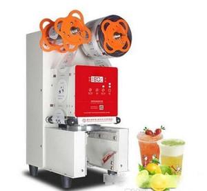 Burbuja automático de té taza de yogur de plástico sellado de la máquina yogurt comercial Copa sellador de sellado de la máquina Venta LLFA