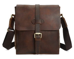 Designer-Fashion Cowhide Genuine Leather Men Bag Business Shoulder Bags For Men High Quality Real Cow Male Handbags Laptop Briefcase