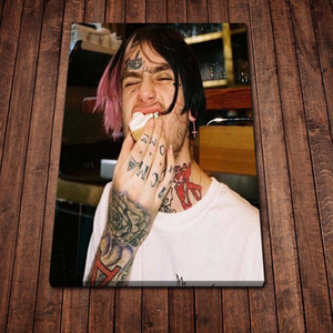 Canvas Painting Wall Lil Peep Tattoo Arms Posters and Prints Wall Pictures for Living Room Decoration Home Decor