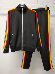 Erkekler 2020 Moda Kadınlar 17 Renk Kişilik Fermuar Spor Suit Ceket Erkek Hoody Eşofman Hip Hop Sonbahar Kış Erkek Ceket