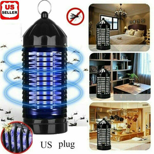1 2PK Electric UV Mosquito Killer Lamp Outdoor Indoor Fly Bug Insect Zapper Trap