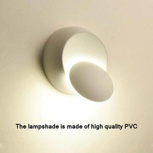 5W Wall Led Lights Decoration Bed Side Lamp For Bedroom Loft Sconce Light Adjustable 360 Rotatable For Modern Home Interior