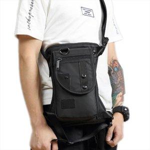 High Quality Men Canvas Waterproof Nylon Rider Leg Bag Drop Belt Shoulder Messenger Cross Body Hip Bum Fanny Waist Pack Bags